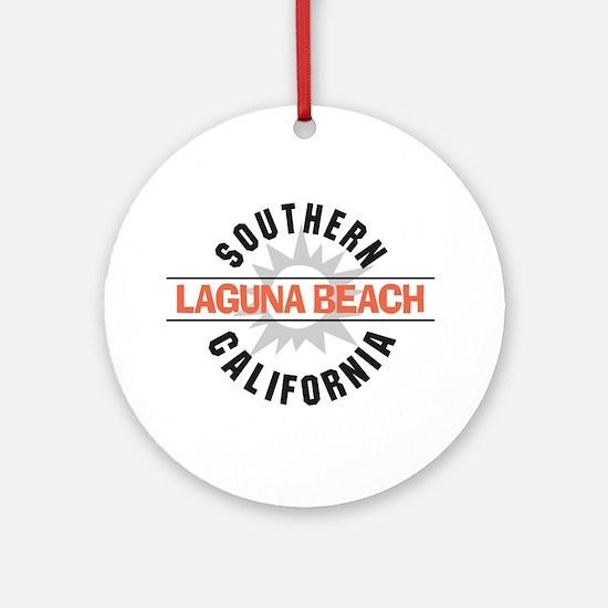 Laguna Beach California Ornament (Round)