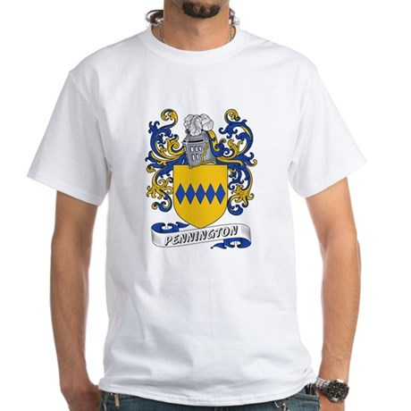 Pennington Coat of Arms White T-Shirt