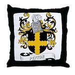 Peyton Coat of Arms Throw Pillow
