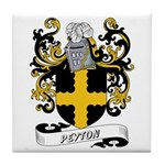 Peyton Coat of Arms Tile Coaster
