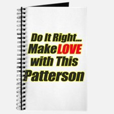 Make love with Patterson Journal