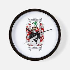 Powell Family Crest Wall Clock