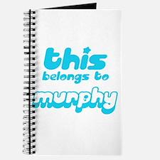 this belongs to Murphy Journal