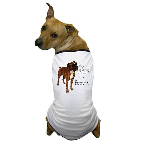 Sparring Boxer Dog T-Shirt