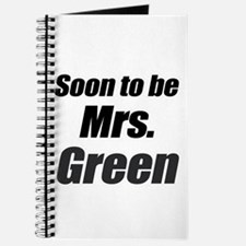 Soon to be Mrs. Green Journal