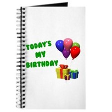 Today's My Birthday 1 Journal