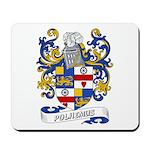 Polhemus Coat of Arms Mousepad