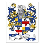 Polhemus Coat of Arms Small Poster