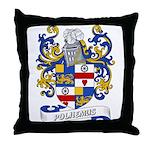 Polhemus Coat of Arms Throw Pillow