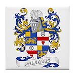 Polhemus Coat of Arms Tile Coaster