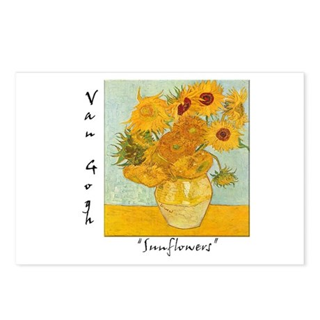 Sunflowers Postcards (Package of 8)