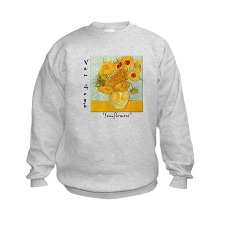 Sunflowers Kids Sweatshirt