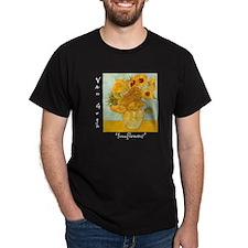 Sunflowers Dark T-Shirt