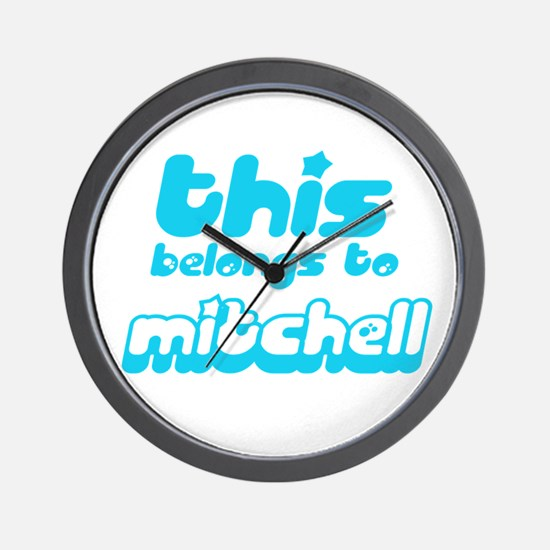 this belongs to Mitchell Wall Clock