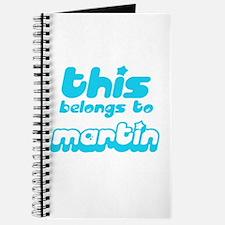 this belongs to Martin Journal