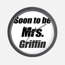 Soon to be Mrs. Griffin Wall Clock