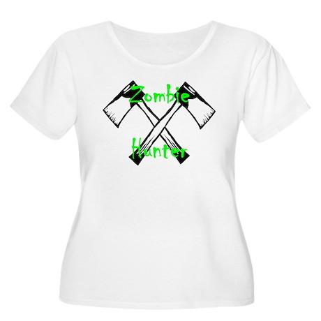 Zombie Hunter Women's Plus Size Scoop Neck T-Shirt