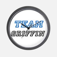 Team Griffin Wall Clock