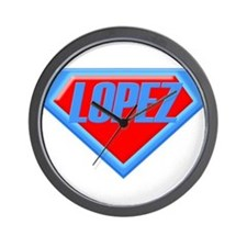 Super Lopez Wall Clock