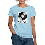 Vinyl Women's Pink T-Shirt