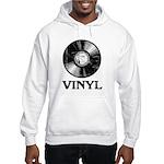 Vinyl Hooded Sweatshirt