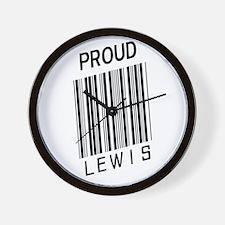 Proud Lewis Wall Clock
