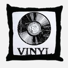 Vinyl Throw Pillow