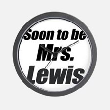 Soon to be Mrs. Lewis Wall Clock