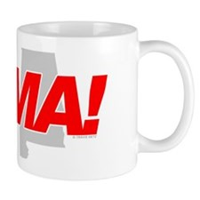 I Love me some BAMA! Small Mug