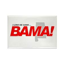 I Love me some BAMA! Rectangle Magnet