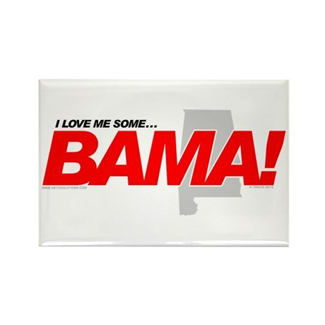 I Love me some BAMA! Rectangle Magnet (10 pack)
