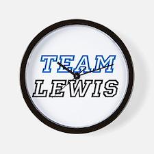 Team Lewis Wall Clock