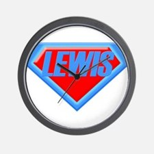 Super Lewis Wall Clock