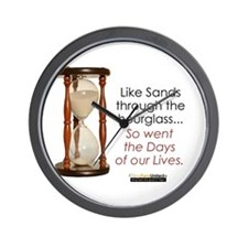 So Went the Days of our Lives Wall Clock