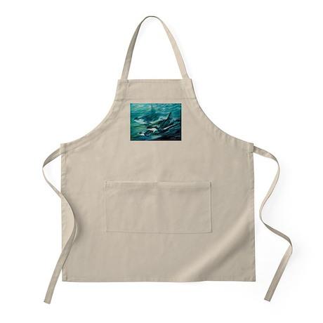 Ocean Wildlife BBQ Apron