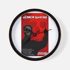 The Horror Seasons Wall Clock