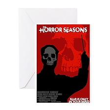 The Horror Seasons Greeting Card