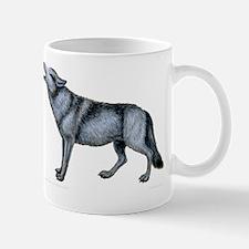 Howling Timber Wolf ~ Small Mug Mugs