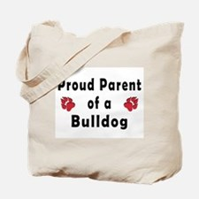 Proud Parent of A Bulldog Tote Bag