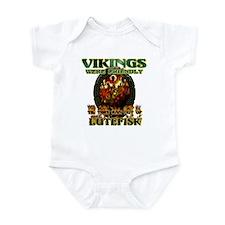 Lutefisk Scandinavian humor Infant Bodysuit
