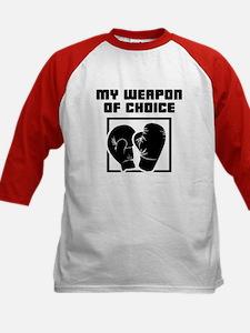 Boxing - WeaponOfChoice Kids Baseball Jersey