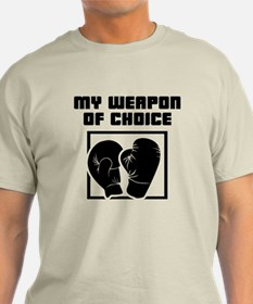Boxing - WeaponOfChoice T-Shirt