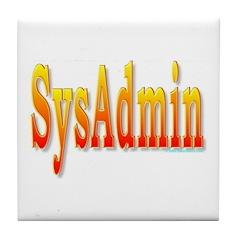 SysAdmin Tile Coaster