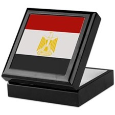 """Egypt Flag"" Keepsake Box"