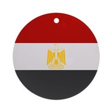 """Egypt Flag"" Ornament (Round)"