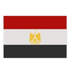 """Egypt Flag"" Postcards (Package of 8)"