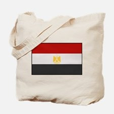 """Egypt Flag"" Tote Bag"