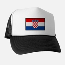 """Croatia Flag"" Trucker Hat"