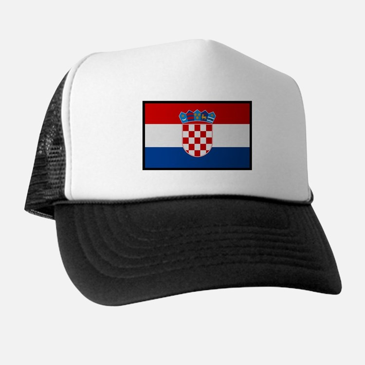"""Croatia Flag"" Trucker Hat"