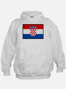 """Croatia Flag"" Hoodie"